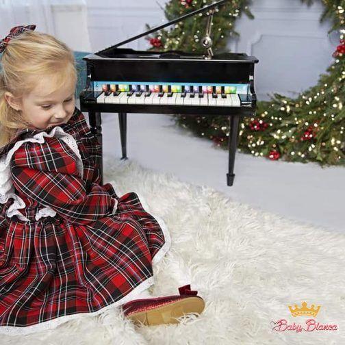 Sukienka szkocka krata 2- córka