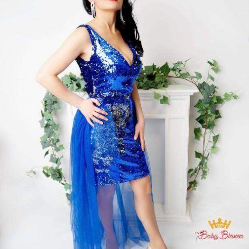 Sukienka Cekinowa MAMA&CÓRKA – mama