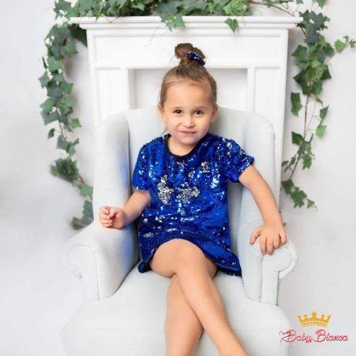 Sukienka M&C Cekinowa- córka