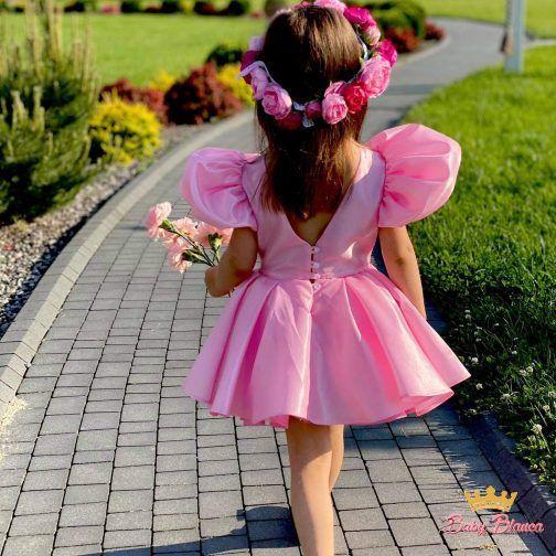 Sukienka Rosse z Bufkami
